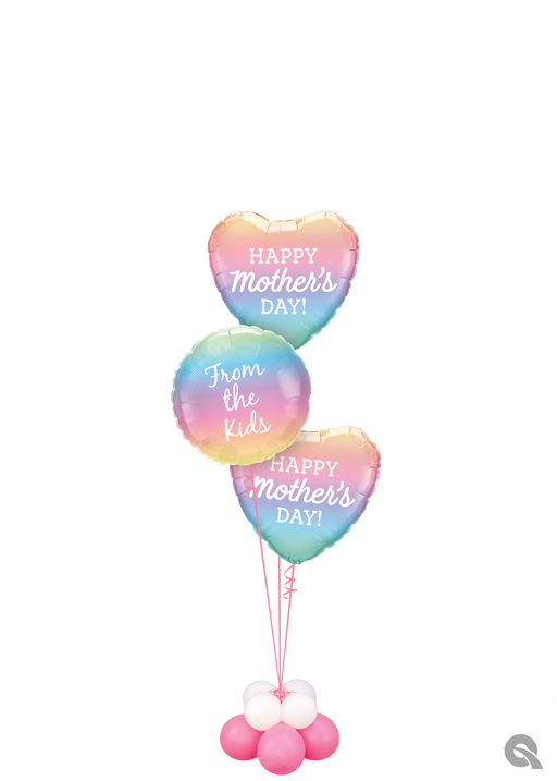 Mothers Day Foil Balloon Cluster