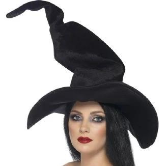 Velour Witch Hat