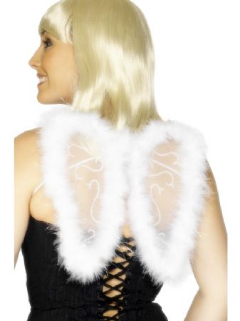 White Glitter Wings (29010)