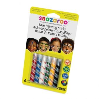 Snazaroo Stick Paints (Psz1160600)