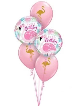 Happy Birthday Flamingo Bouquet