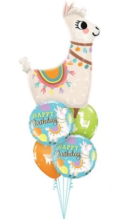 Luxury Happy Birthday Loveable Llama Bouquet