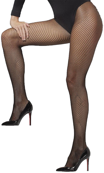 XL Fishnet Tights (Black)