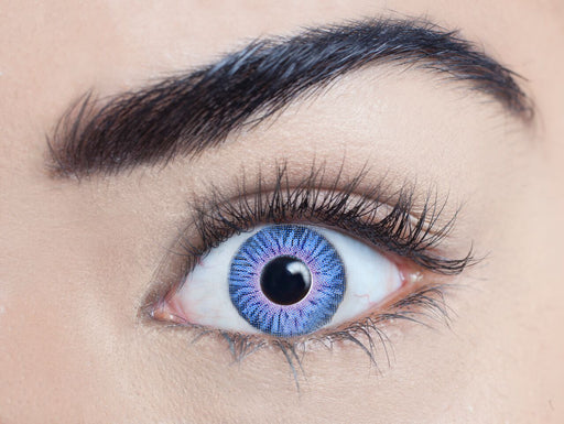 Infusionz Contact Lenses (Indigo Sky)