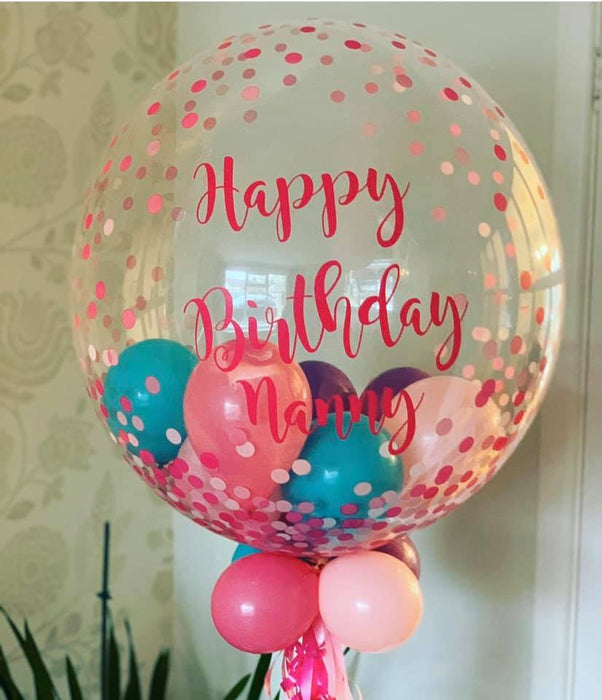 Personalised Bubble Balloon