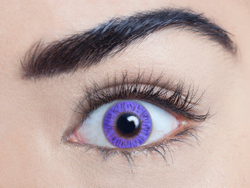 Blendz Contact Lenses (Pure Violet)
