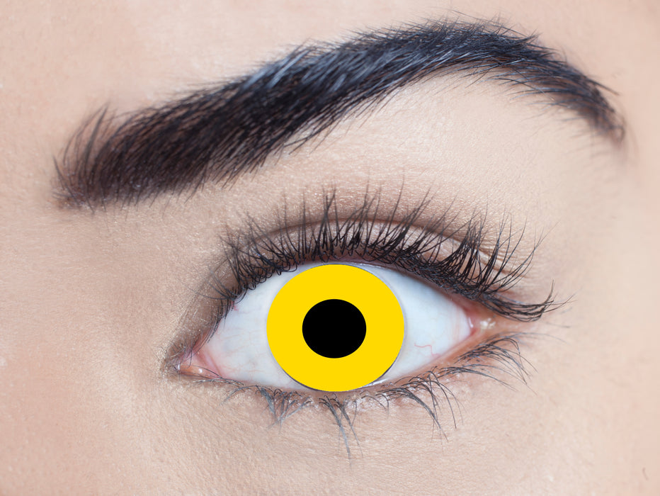Xtreme Contact Lenses (Yellow)