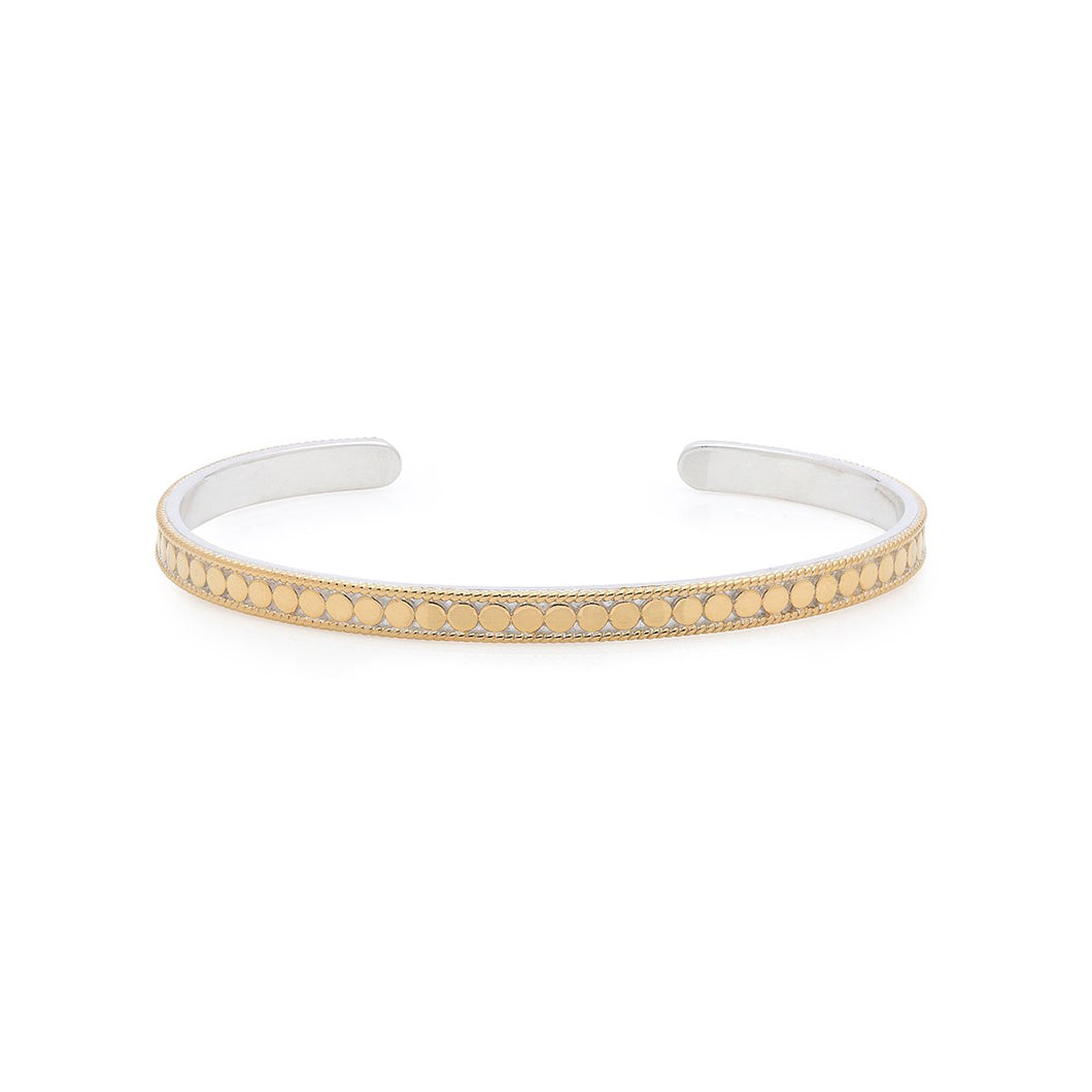 Anna Beck: Dotted Stacking Cuff – Rose Gold