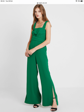 Load image into Gallery viewer, Foxiedox Idalia Jumpsuit Emerald Green