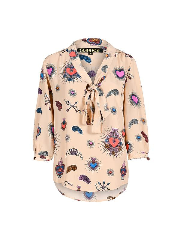 Stardust Betty Heart Blouse