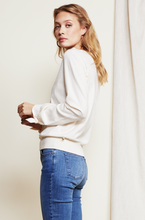 Load image into Gallery viewer, Fabienne Chapot Molly Bow Pullover Cream White