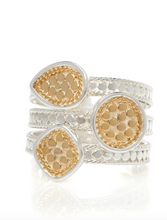 Load image into Gallery viewer, Anna Beck: Signature Beaded Triple Ring