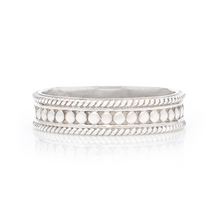 Load image into Gallery viewer, Anna Beck: Dotted Stacking Ring - Silver