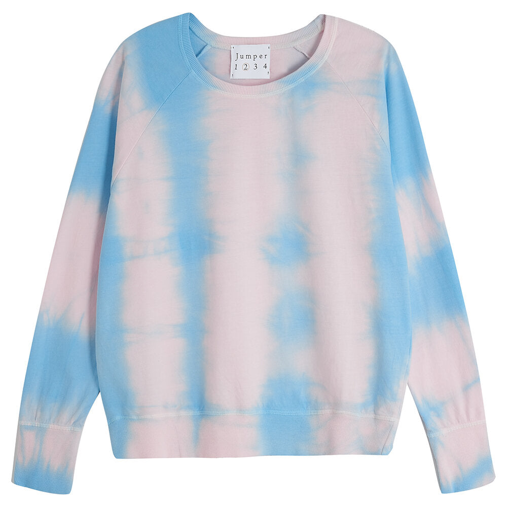 Jumper 1234 Tie Dye Sweat In Blossom