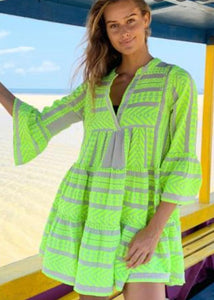 Devotion Green Neon Ella Dress
