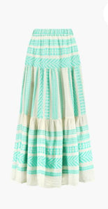 Devotion Sara Maxi Skirt - Green