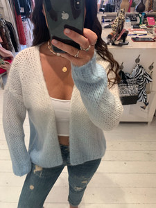 White and Blue Ombré Cardigan *NEW STOCK*
