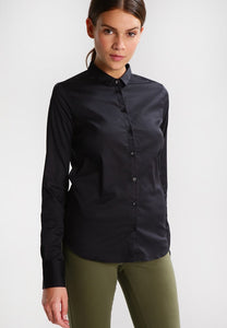 Mos Mosh Tilda Button Down Blouse Black