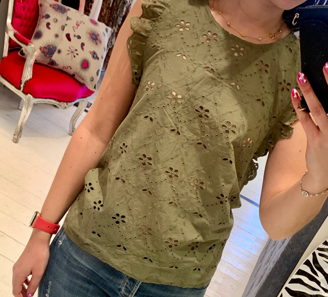 Goa Paris Anglaise Top
