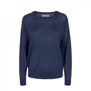 Mos Mosh Winta Knit Mood Indigo