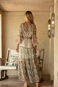 Miss June Wild Rose Dress