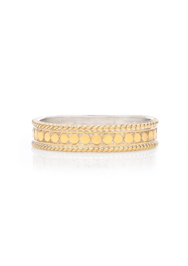 Anna Beck Dotted Stacking Ring - Gold