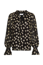 Load image into Gallery viewer, Fabian need Chapot Maxine Blouse - Starry Night Gold