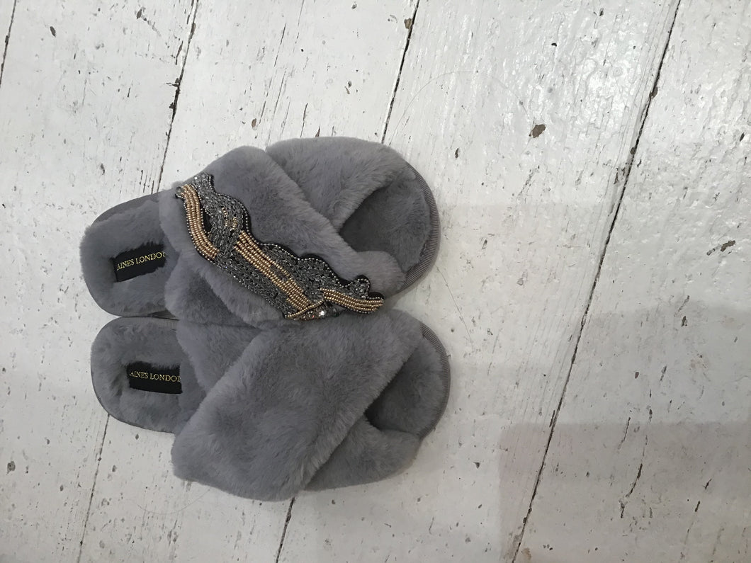 Laines Faux Fur Slippers