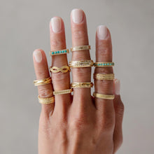 Load image into Gallery viewer, Anna Beck Dotted Stacking Ring - Gold