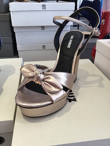 Lola Cruz Metallic Heels