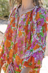 Miss June Joan Blouse Multi