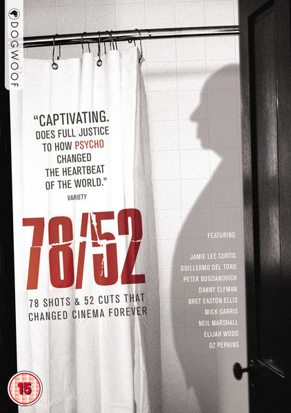 78/52: Hitchcock's Shower Scene DVD
