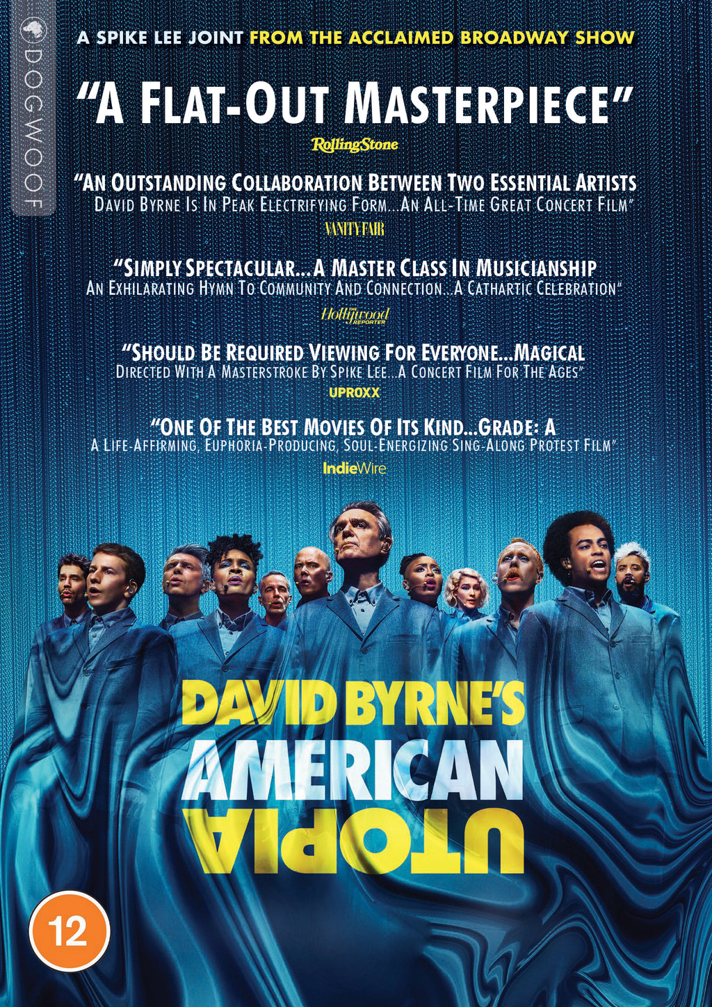 David Byrne's American Utopia DVD