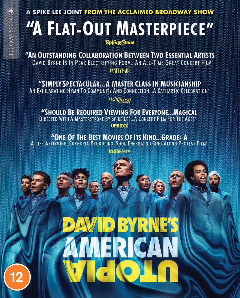 David Byrne's American Utopia Blu-ray