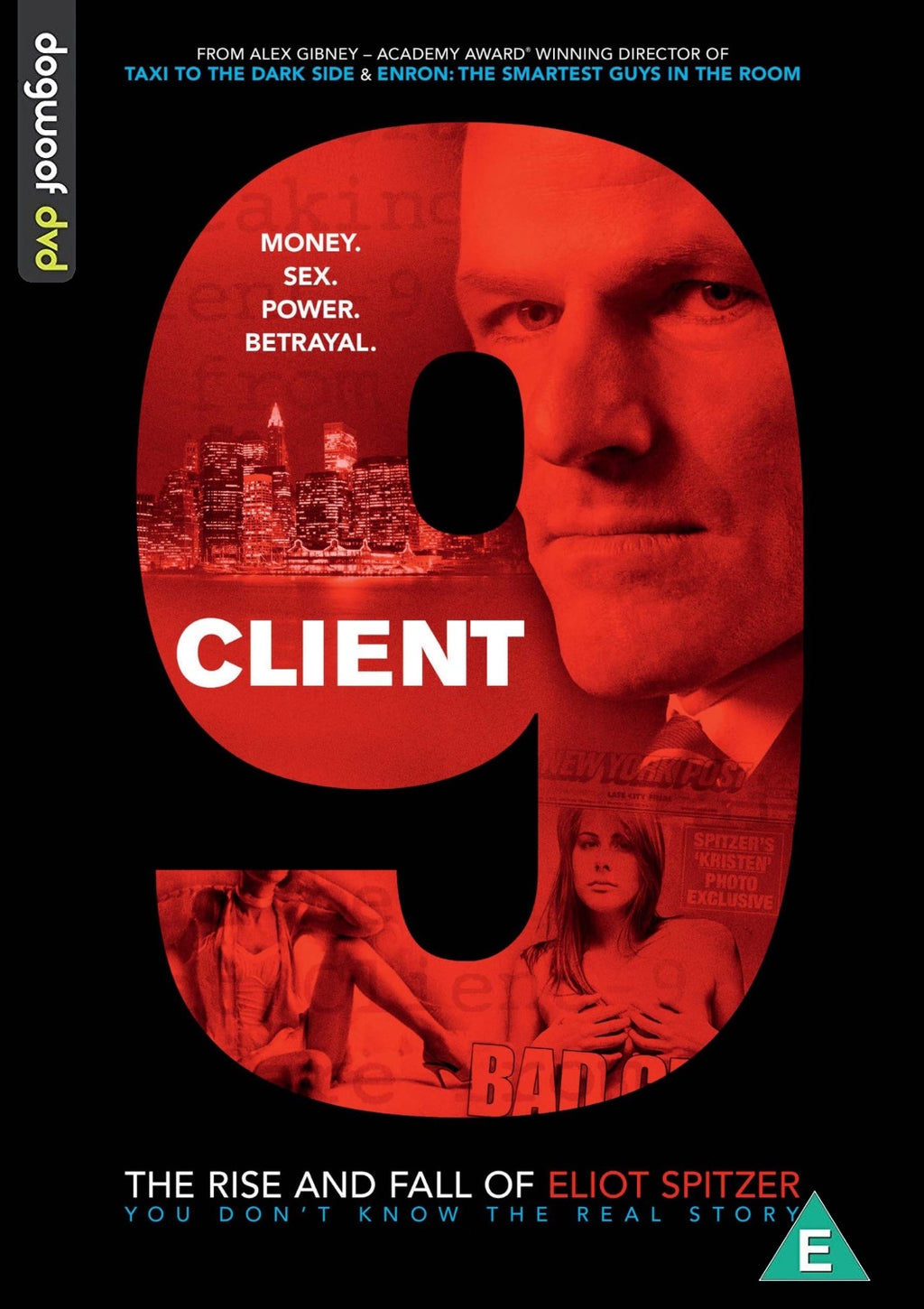 Client 9: The Rise and Fall of Eliot Spitzer DVD
