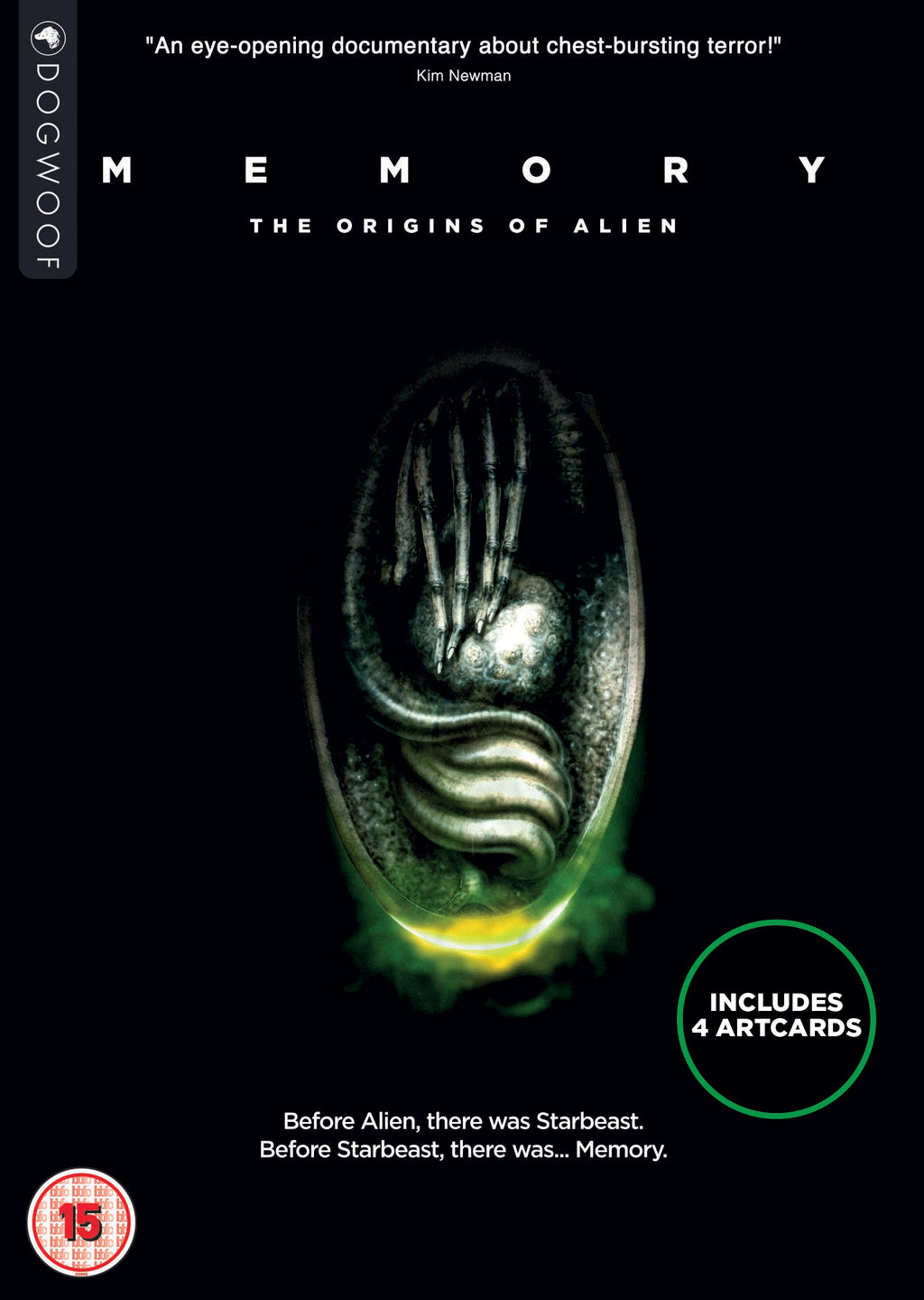 Memory: The Origins of Alien DVD