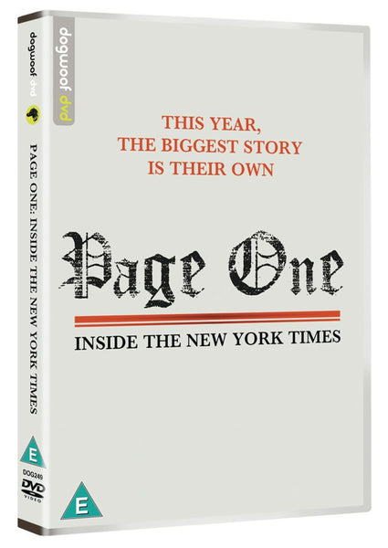 Page One DVD