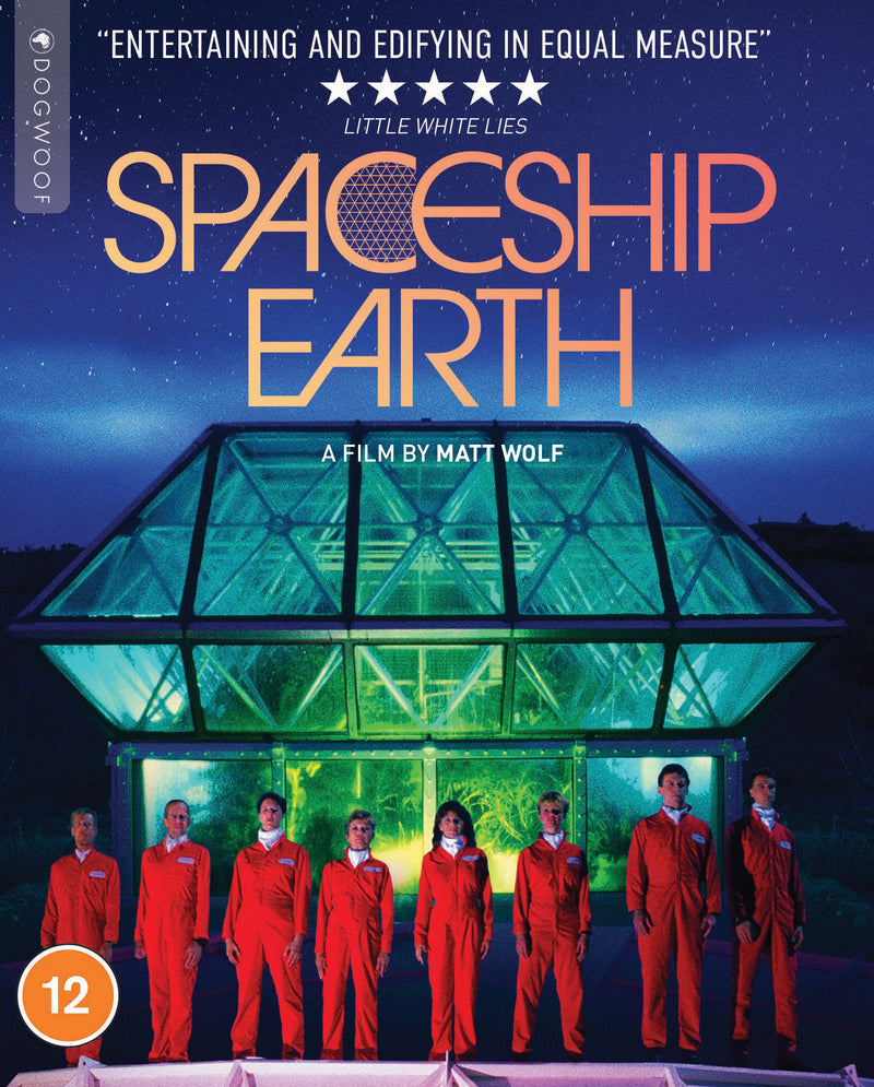 Spaceship Earth Blu-ray