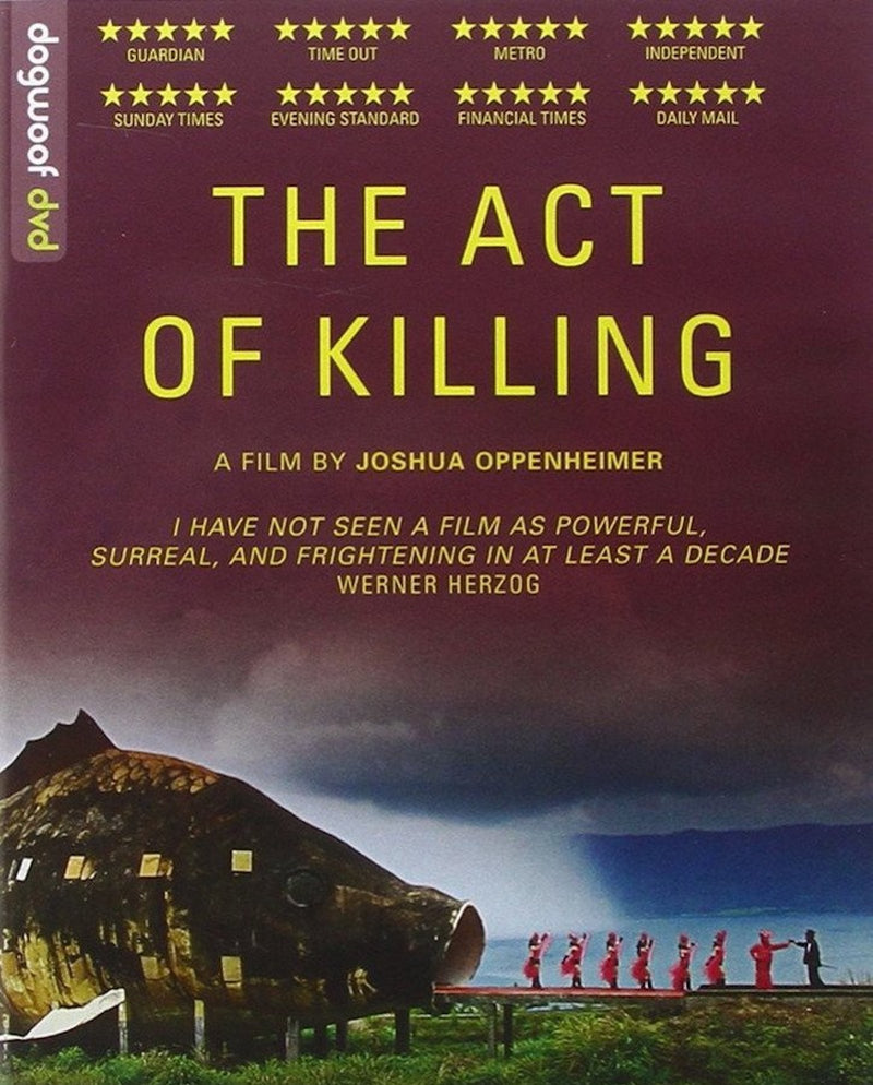 The Act of Killing Blu-ray