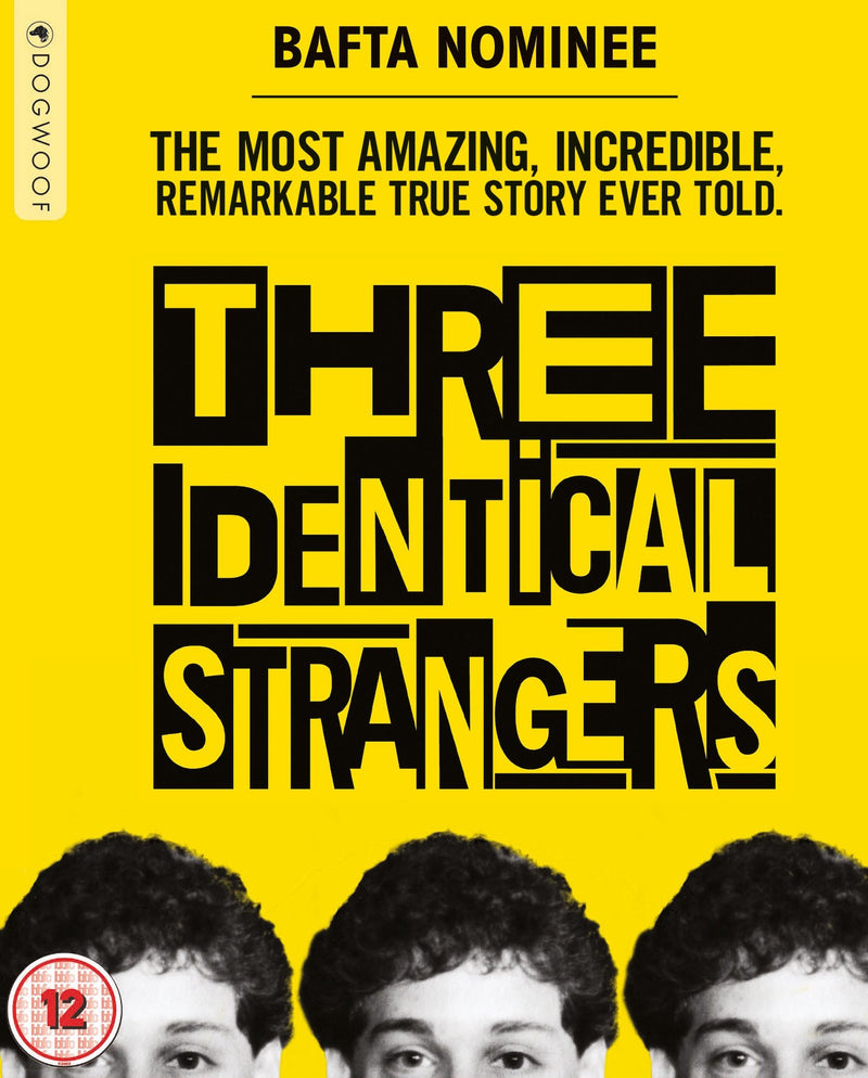 Three Identical Strangers Blu-ray