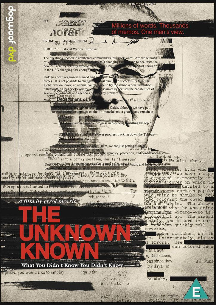 Unknown Known DVD