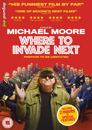 Where to Invade Next DVD