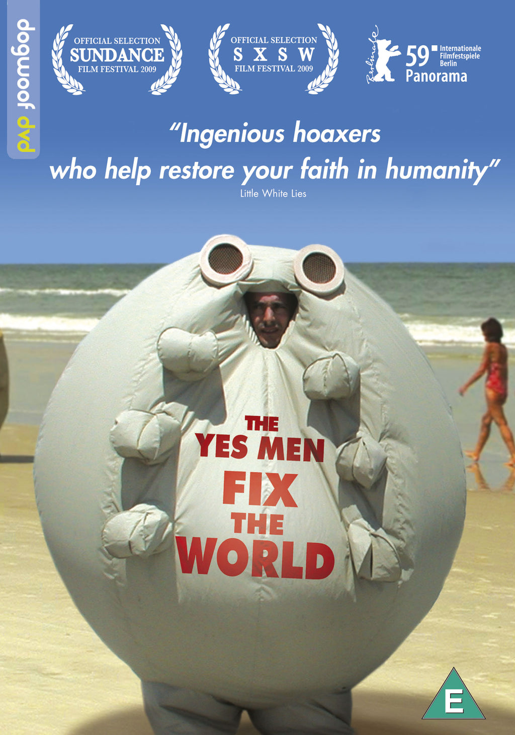 The Yes Men Fix the World DVD