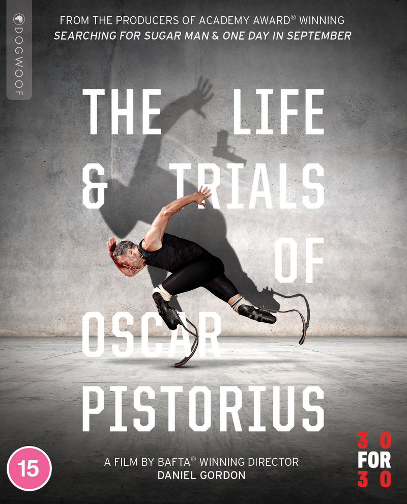 The Life and Trials of Oscar Pistorius Blu-ray