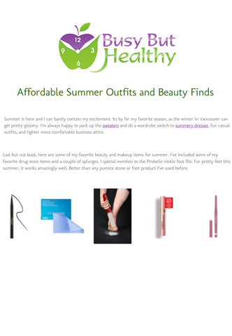Affordable Summer Outfits and Beauty Finds