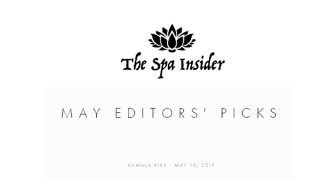 The Spa Insider - May 2019 Editors' Picks