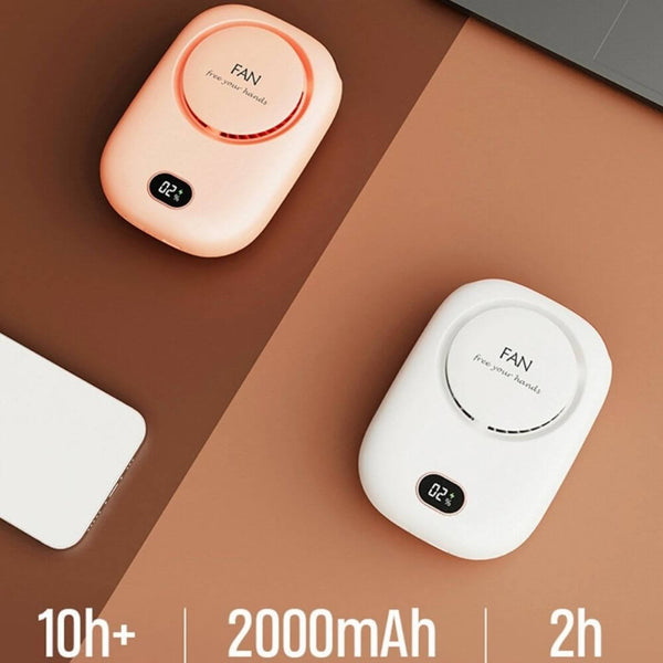 Hands-free USB Powered Portable Mini Personal Fan |  10+ Hrs Running Time with Single Charge | myesoko.com