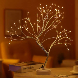 Premium Tabletop Tree Lamp |  warm white light | www.myesoko.com