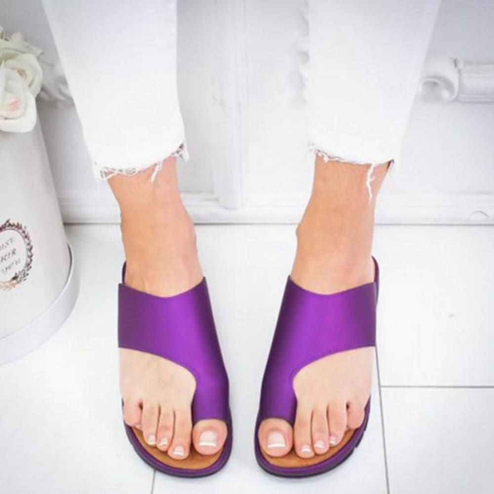 Orthopedic Bunion Corrector Sandals - Purple / 42 - Sandals