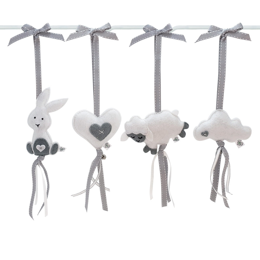 Heartfelt Dingle Dangle Set - Nunu Neutral